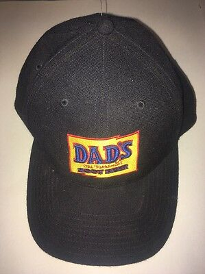 nos Clean DADS ROOT BEER Soda Pop Embroidered cap Hat Advertising Sign