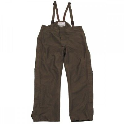 Original Austrian BH Rain Trousers Olive Goretex Army Protection Against Wetness