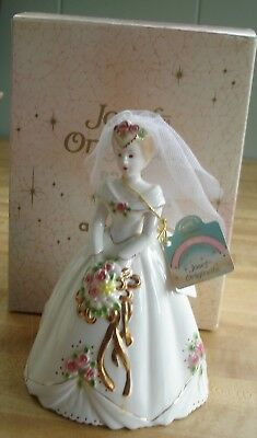 Josef Originals Bride Figurine w/Box & Tag -- Applause -- 6 3/4""