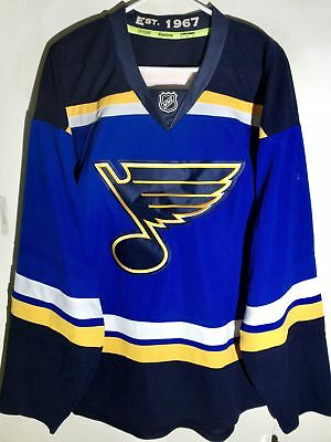 REEBOK AUTHENTIC NHL Jersey Saint Louis Blues Team Blue sz 52 ... 43ae9ce62