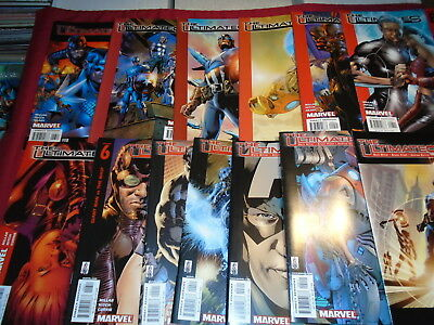 THE ULTIMATES #1-13 Millar Hitch Complete Set Marvel Comics 2002 NM/NM-