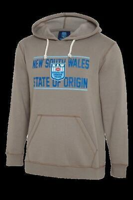NSW Blues State Of Origin 1980s NSWRL Logo Hoodie/Hoody Sizes S-5XL! W18