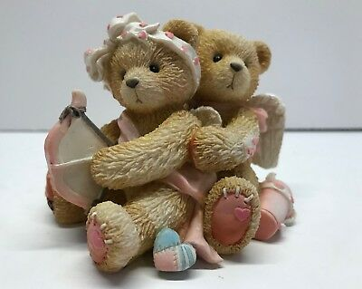 """Cherished Teddies Figurine: """"Aiming For Your Heart"""" 103594"""