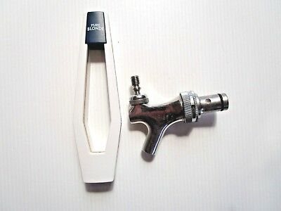 PURE BLONDE  Beer Tap Handle & includes beer tap - commercial quality