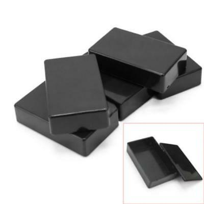 5x New Plastic Electronic Project Box Enclosure Instrument case DIY 100x60x25mm
