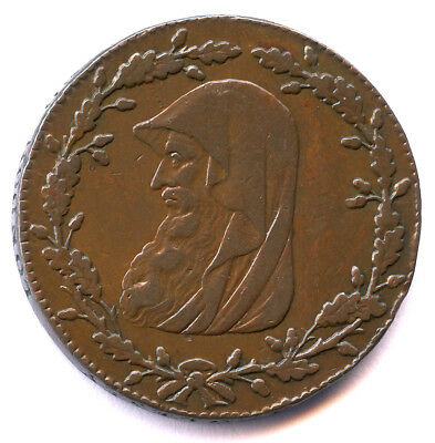 1788 Anglesey Druid/pary's Mine ½  Penny Conder Token, Anglesey Dh 300
