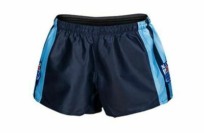 NSW Blues State Of Origin 2018 Classic Hero Footy Shorts Size S-4XL!