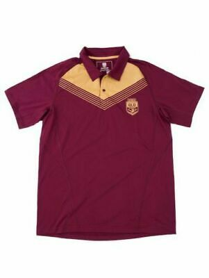 QLD Maroons State Of Origin 2017 CCC Maroons Basic Polo Shirt Sizes S-3XL!7