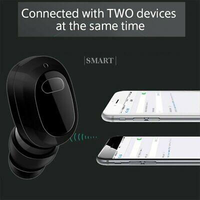 Mini Twins Invisible Wireless Bluetooth Stereo Headset In-Ear Earphones Earbuds
