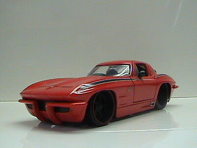 1963 Chevy Corvette Sting Ray  Limited Edition Jada  Collector's Club Die-Cast