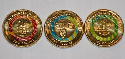 NEW Limited Ed'n GC2018 Set $2 coins BOROBI- Commonwealth Games OFFICIAL PRODUCT