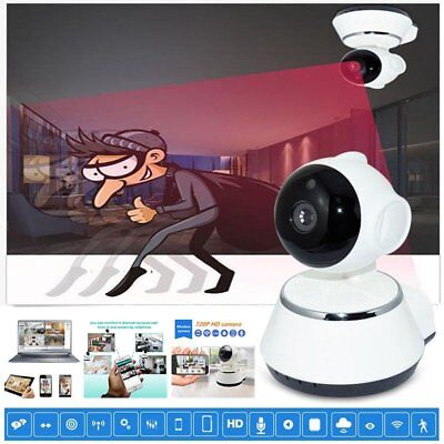 Wireless 720P Pan Tilt Network CCTV IP Camera IR Night Vision WiFi Webcam CAM