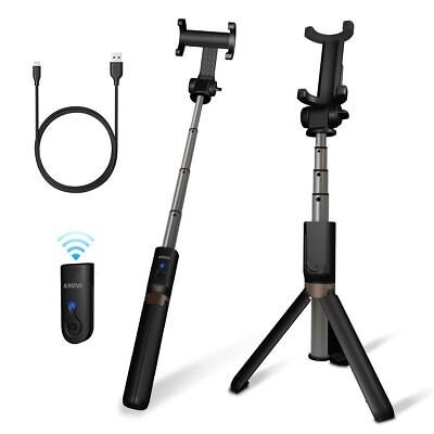 2 in 1 Telescoping Selfie Stick with Tripod Stand for GoPro Hero 6/5/4/3+/3/2/1