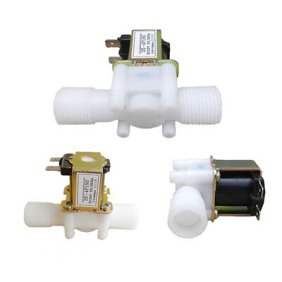 """USA 12V Electric Solenoid Valve Magnetic DC N/C Water Air Inlet Flow Switch 1/2"""""""