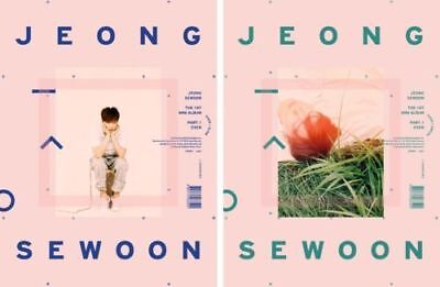 Jeong Sewoon 24 Part.2 1st Album One Version CD+1p Poster+128p PhotoBook+1p Film Photo+1p PhotoCard+Message PhotoCard Set+Tracking Kpop Sealed