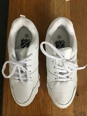 KP 85 Girls Trainers White Size 2