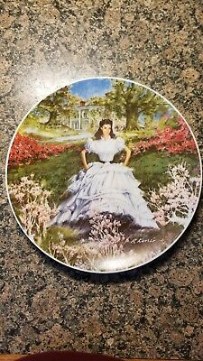 """1978 Knowles MGM Gone With the Wind """"Scarlett"""" China Plate"""