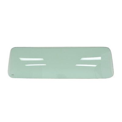 55 - 59 Chevy Pickup Truck Rear Window Glass - Small / Green Tinted