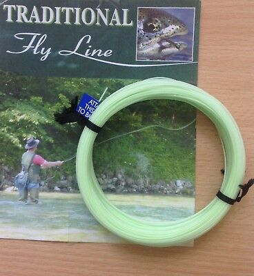 New Formulated Fly Line 2018 Wf Intermediates For Fly Fishing Clear / Mist Green