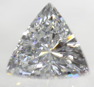 0.05 Carat H Color SI3 Triangle Natural Loose Diamond for Jewelry 2.87X2.86mm