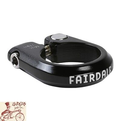 """29.8mm 38830 - black SOMA Fabrications Bolt-on seat clamp 1-1//8/"""""""