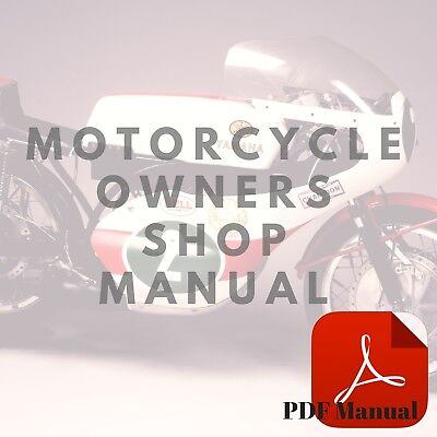 Yamaha 1986 IT200S Owner's Service Motorcycle Manual