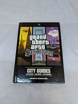 Grand Theft Auto San Andrea City Guide PC Game AS-IS