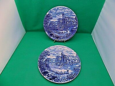 Wood & Sons The Post House Dinner Plates x 2