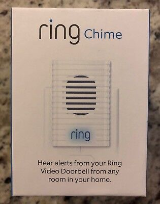 Brand New Ring Chime Speaker Video Wi Fi Wireless Doorbell White Door Chime