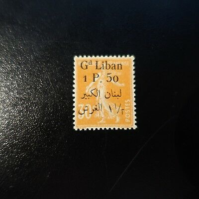 France Colony Grand Lebanon N°29 New With Original Gum Value