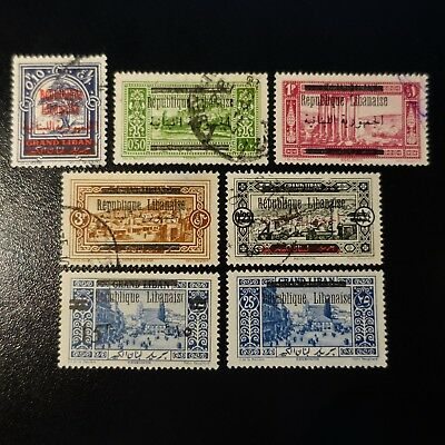 France Colony Grand Lebanon Between The N°98/110 New And Obliterated Value