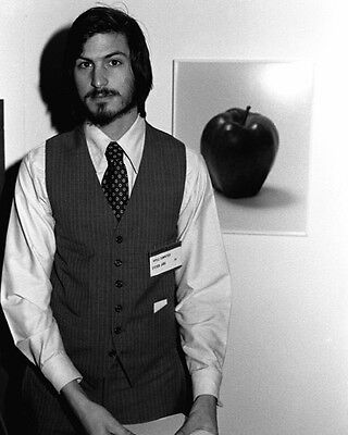 Former CEO of Apple STEVE JOBS Glossy 8x10 Photo Co-Founder Print Portrait