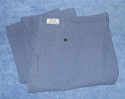 50x32 Steel Grip Westex FR-8 Fire Resistant Pants blue jeans made in USA unused