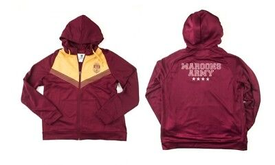 QLD Maroons State Of Origin 2017 CCC Maroons Army Jacket Sizes S-3XL!2