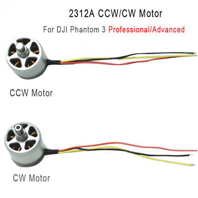 Original 2312A CCW/CW Brushless Motor 800KV for DJI Phantom 3 Pro&Advanced Drone