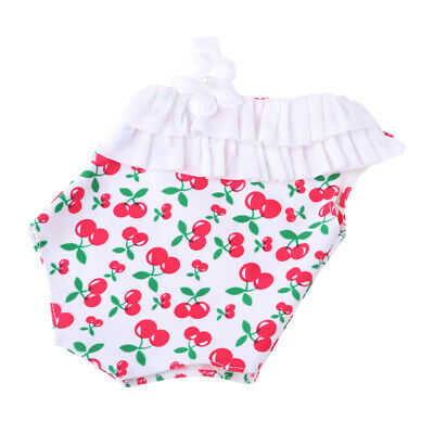 Cute Cherry Pattern Swimsuit for American Girl Dolls - 18 Inch Doll Clothes