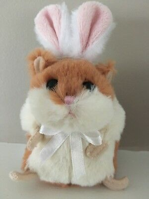 Easter Bunny Ears Stuffed Hamster Plush Toy for Basket Ganz CUTE!