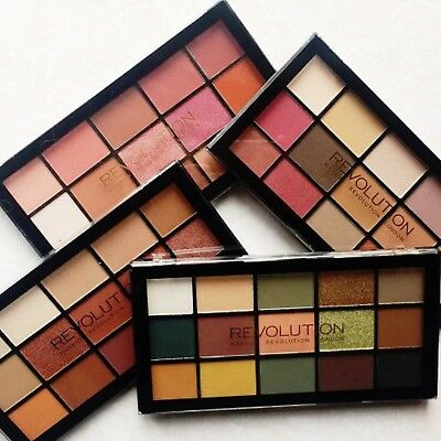 *NEW* MakeUp Revolution Re-Loaded Eyeshadow Palettes Sealed - UK Seller
