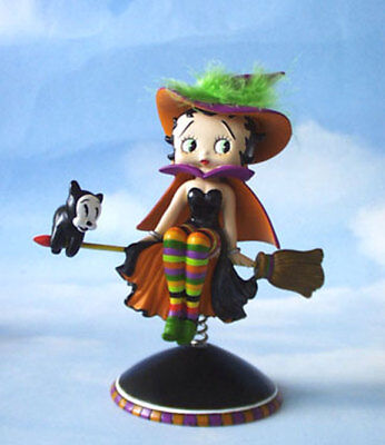 Betty Boop Halloween Bewitching Bobber Retired