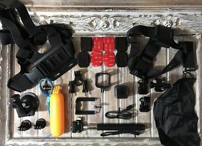 GoPro Hero 5 Session 4K HD Action Camera CHDHS-501 + Huge Lot of New Extras