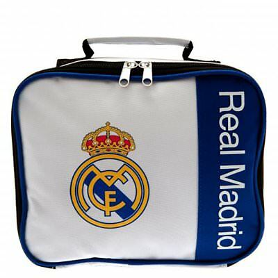 Real Madrid Lunch Bag / Box Lunchbox Back To School Gift Kids Boys Girls - WM