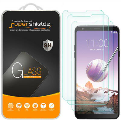 3X Supershieldz for LG Stylo 4 Tempered Glass Screen Protector Saver