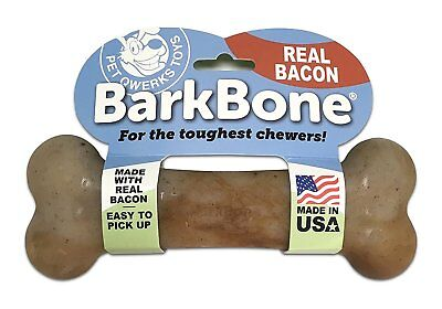 Pet Qwerks Large Bacon BarkBone for Dogs