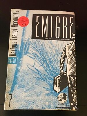 Out of Print RARE Emigre Typography Graphic Design Magazine #7— 1987
