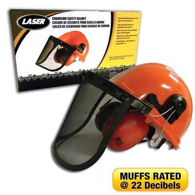 Chainsaw Parts  Accs Chainsaw Safety Kit. Helmet With Ear Muffs Face Shield . S