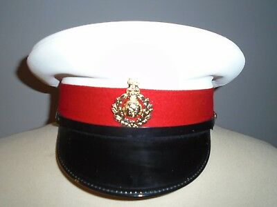 Royal Marines Mans Peaked Cap Various Sizes British Army Issue