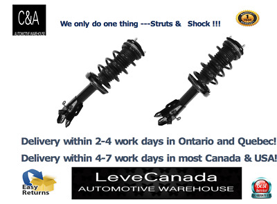 2006-2011 Honda Civic Front Left & Right(PAIR) Quick Complete Strut