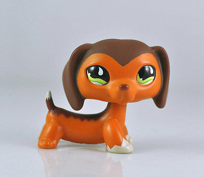 Pet Dachshund #675 Dog Collection Child Girl Boy Figure Littlest Toy LPS875