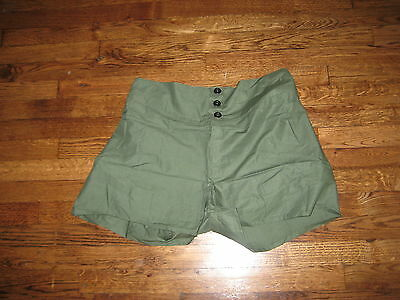 boxers, new old stock, british army ,1952,100% cotton,adjustable 29-33,size 1