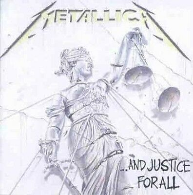 And Justice For All - Metallica (2007, CD NEUF)